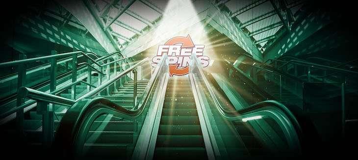 Eskalator Kasino Bet365 100 putaran gratis