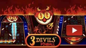 Igralni avtomat 3 Devils Pinball