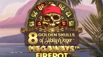 Igralni avtomat 8 Golden Skulls of Holly Roger Megaways