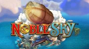 Paket zastonj vrtljajev na igralnem avtomatu Noble Sky